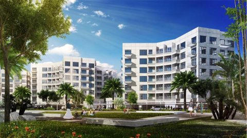 شقة في دبي بأطلالة على اجمل الحدائق الخضراء ب 44 مليون فرنك