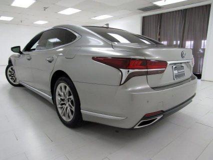 2018 Lexus LS 500 Atomic Silver