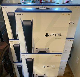 حزمة قرص وحدة التحكم في جهاز PlayStation 5 + وحدة تحكم إضافية