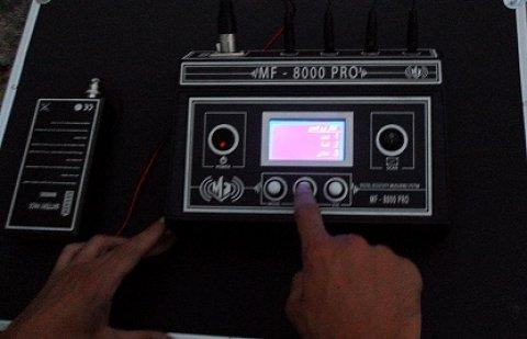 جهاز التنقيب الجيلوجي عن الذهب والأحجار الكريمة والكهوف MF800PRO