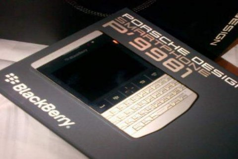 BlackBerry Porsche Design P\'9981 BB CHAT 24 hours:26FC4748